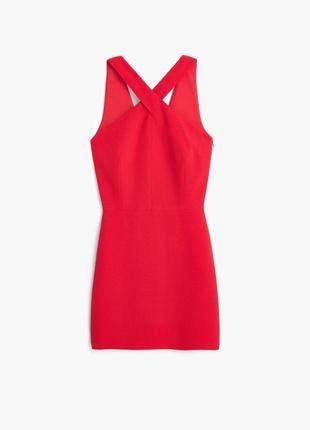 Соблазнительное красное платье от mango suit (размер 10)