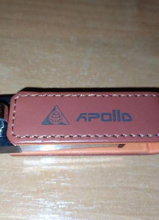 Флешка 4 ГБ Apollo кожа