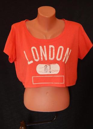 Топ*мини-футболка от i love h81 forever21 оригинал  (размер м)