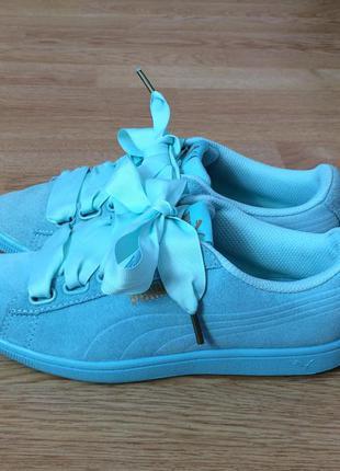 Замшевые кроссовки puma 37 размера в идеальном состоянии