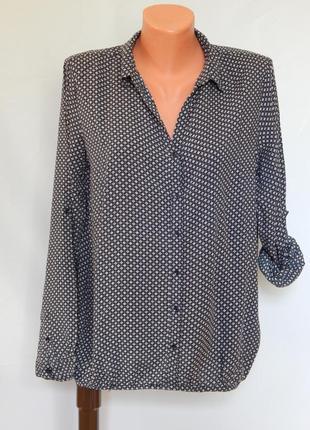 Женская легкая рубашка* блуза tom tailor (размер 38)
