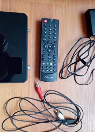 Новый тюнер T2 Strong SRT 8501. Ресивер DVB Т2 цифровое ТВ ТБ TV