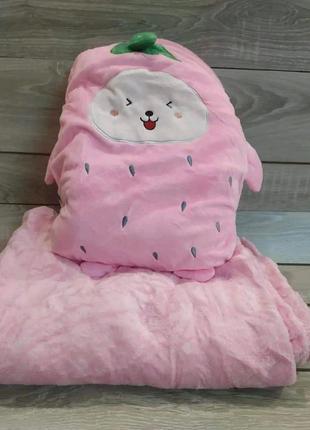 Пледы игрушка подушка