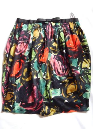 Яркая юбка от river island (размер 36)