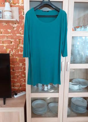 Симпатичное платье туника большого размера