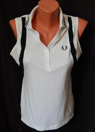 Спортивная футболка-поло от  fred perry(размер 12)