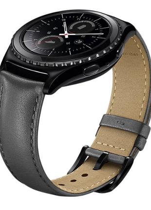 Ремешок для смарт-часов SAMSUNG Leather Band for Gear S2 Classic