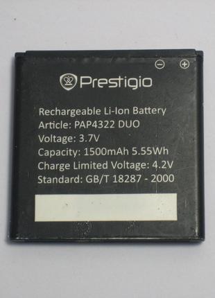 Акумулятор Prestigio PAP4322 DUO (1500 mAh) б/в