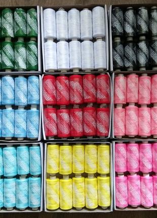 Нитки швейные ideal