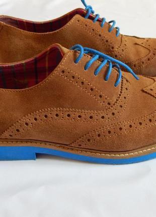 Стильные замшевые туфли el ganso португалия (размер 40)