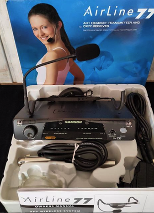 Радиосистема радиомикрофон Samson AirLine77 + Fitness Qe (CH N3)
