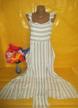 Очень красивое женское платье в пол new look (нью лук)  грудь ...