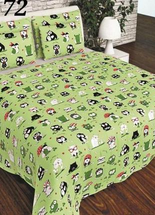 Комплект постельного белья совы