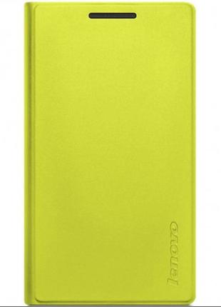 Чехол планшета Lenovo A7-10 Tab2 Folio-green+пленка