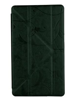 """Чехол планшета Utty Y-case Pattern Asus C Z170 7"""" Green Flower"""