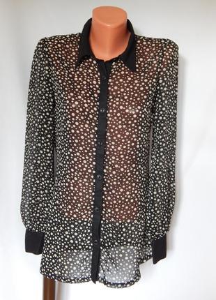 Блузка в горох от select (размер 10)