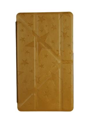 """Чехол для планшета Utty Y-case Pattern Asus C Z170 7"""" Yellow Star"""