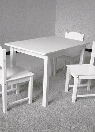 Столик, стульчик детский, парта