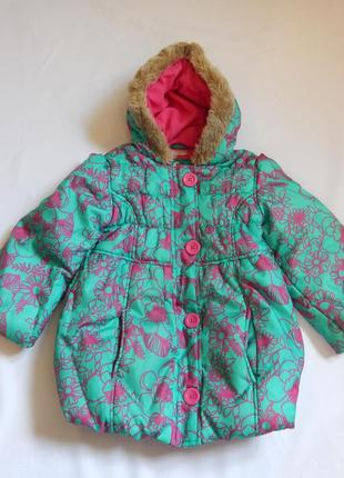Mark& spencer зимняя *деми-сезон куртка на девочку(возраст 5-6...