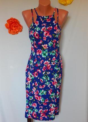Яркое платье от diva (размер 38)