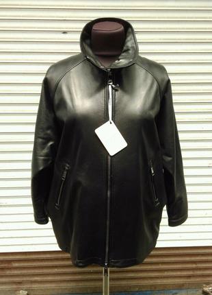 Стильная куртка из натуральной кожи!