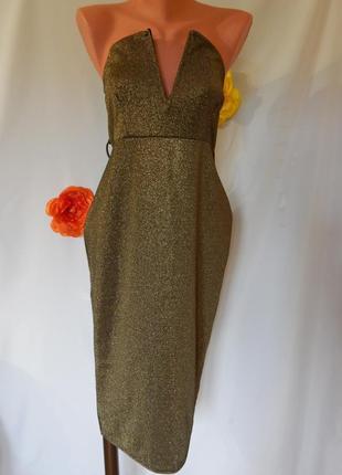 Вечернее платье-футляр от edge (размер12-14)