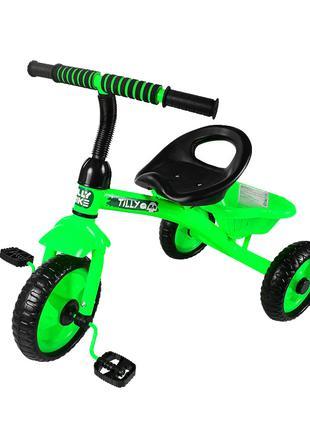 Велосипед Трехколесный Tilly Trike T-315 Салатовый