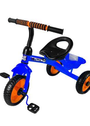 Велосипед Трехколесный Tilly Trike T-315 Синий