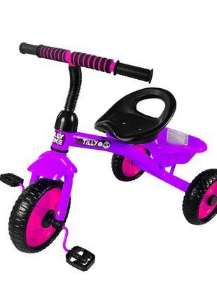 Велосипед Трехколесный Tilly Trike T-315 Фиолетовый