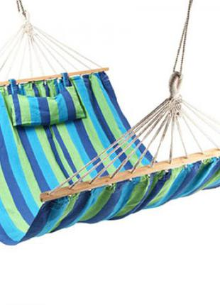 Гамак тканевый STENSON с подушкой 200 х 100 см