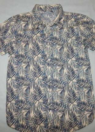 Рубашка модная новая на подростка 13-14 лет 164 см