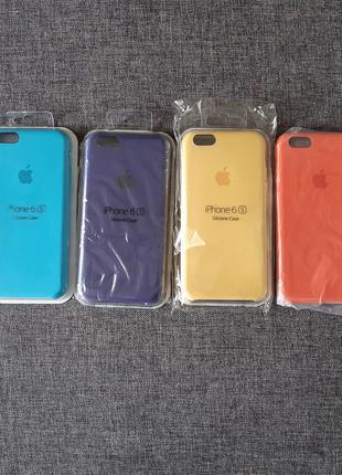 Силиконовый чехол бампер для Apple iPhone 6 / 6S