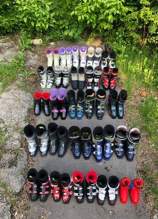 Ботинки, обувь для лыж