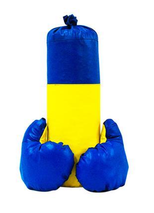 """Боксерский набор """"Ukraine"""" d=14 см"""