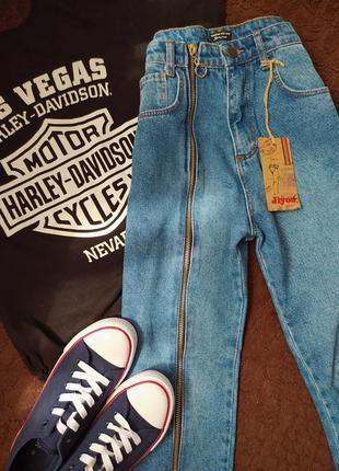 Плотные джинсы 💙 mom 🌿 высокая посадка