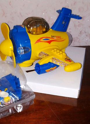 музыкальный самолет Blocks plane
