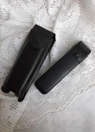 Триммер мужской на батарейках машинка для стрижки бороды