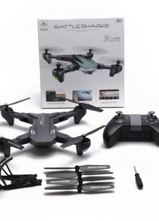 Квадрокоптер, дрон Visuo xs816 + дополнительная батарея в подарок