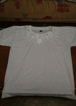 Блуза(футболка)56 размер
