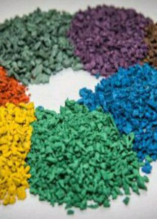 Производство и оптовая продажа резиновой крошки