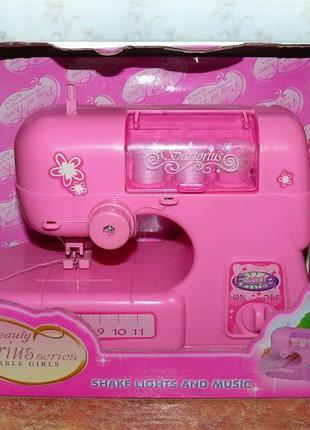 Машинка швейная детская с музыкой и светом