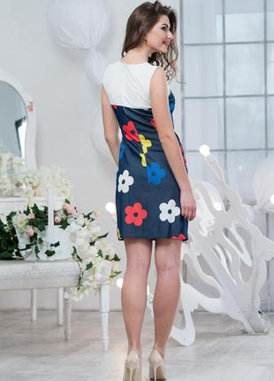 Яркое платье тм tanita romario❤ р.46-48
