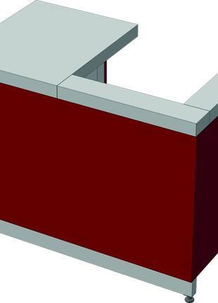 Кассовый узел (КУ) 1100х700(1000*)х900 СТАНДАРТ 304/Ст.3