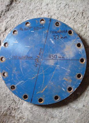 Заглушка фланцевая ду350