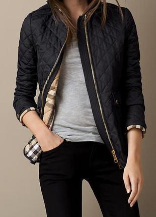 Burberry люкс бренд оригинал дизайнерская#демисезонная#стегана...