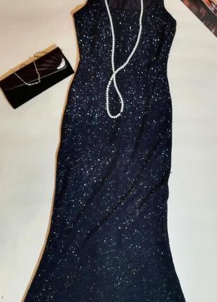 Черное вечернее платье expresso