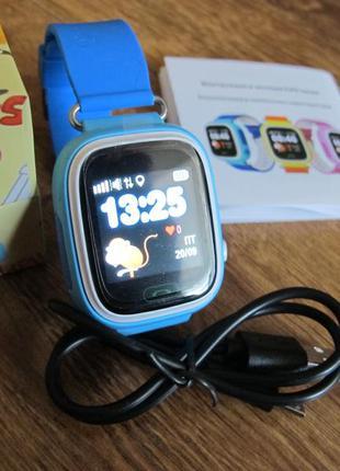 Смарт часы для детей gps трекер для детей q90