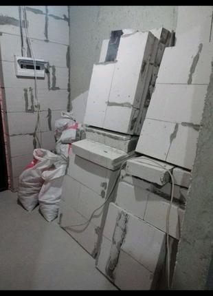 Загрузка и вывоз строительного мусора,отходов после ремонта.