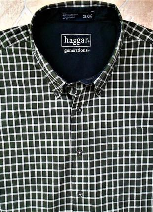 Рубашка haggar размер xl (54-56)