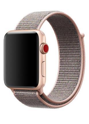 Нейлоновый ремешок для apple watch 38mm/40mm sport loop